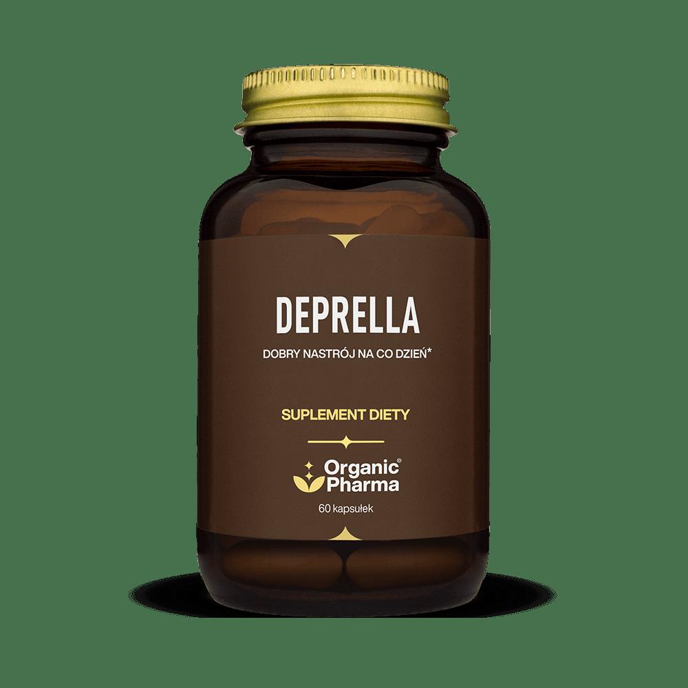 Suplement na stres, sen, uspokojenie - ziołowe tabletki Deprella