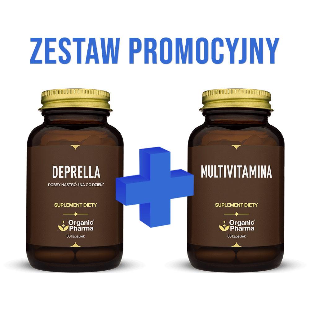 Zestaw Promocyjny - Deprella oraz Multivitamina