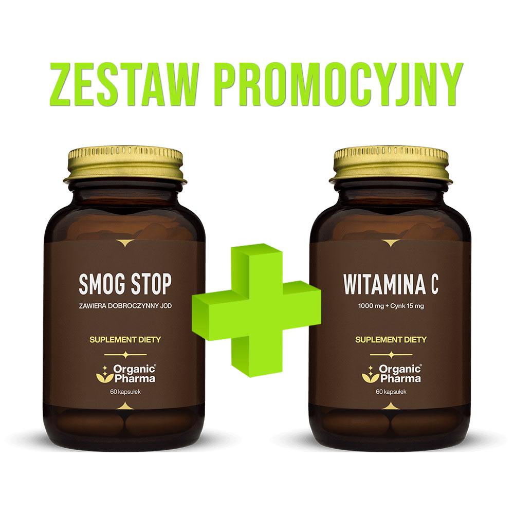 """Zestaw Promocyjny - Smog Stop oraz """"Witamina C"""